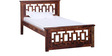 Stockton Single Bed in Provincial Teak Finish by Woodsworth