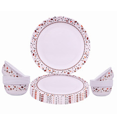 Servewell Urmi Fillgree Dinner Set - 18 Pcs