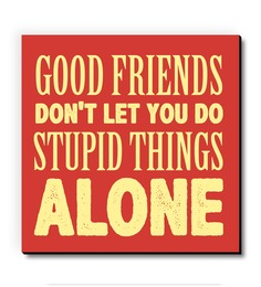 Seven Rays Food Friends Stupid Things Fridge Magnet