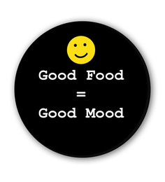 Seven Rays Good Food & Mood Fridge Magnet