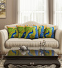 Sej by Nisha Gupta Multicolour Cotton 16 x 16 Inch Abstract Cushion Covers - Set of 5