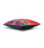 Sej by Nisha Gupta Pink Cotton 16 x 16 Inch HD Digital Premium Elephants Cushion Covers - Set of 2