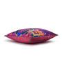 Sej by Nisha Gupta Purple Cotton 16 x 16 Inch HD Digital Premium Elephants Cushion Cover - 1pc