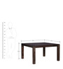 Montesano Eight Seater Dining Set in Provincial Teak Finish by Woodsworth