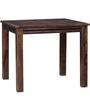 Frazer Four Seater Dining Set in Provincial Teak Finish by Woodsworth
