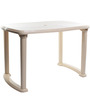 Senator Four Seater Dining Table in Beige Colour by Cello