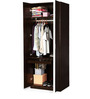 Senorita Two Door Wardrobe in Wenge and White Colour by Exclusive Furniture