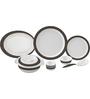 Servewell Ornate Melamine Round Dinner Set - Set of 29