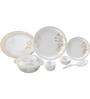 Servewell Petals Melamine Round Dinner Set - Set of 29