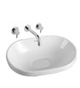 Sestones Counter White Ceramic Basin