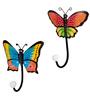 Wonderland Set Of Two : Single Butterfly Hook  ( Single Pc)