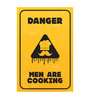 Seven Rays Paper 12 x 1 x 18 Inch Danger Men Are Cooking Unframed Poster