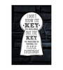 Seven Rays Paper 12 x 1 x 18 Inch Key To Success Unframed Poster