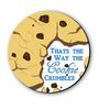 Seven Rays Multicolour Fibre Board Cookie Crumbles Fridge Magnet
