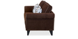 Shelby Two Seater Sofa in Brown Colour by @Home