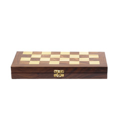 Shilpi Brown Sheesham Wood Chess Board