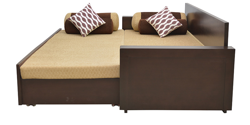 Buy shine sofa bed in brown colour by hometown online for Sofa bed 400