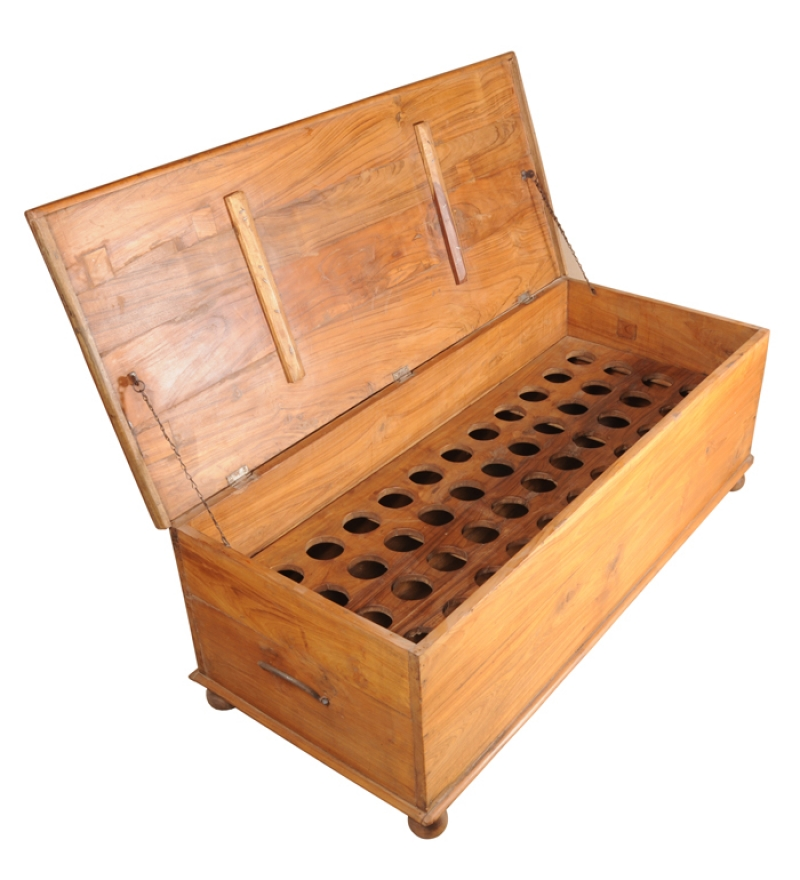 Cayenne Box With Bottle Holder By Mudra Online Trunks Boxes Furniture Pepperfry Product