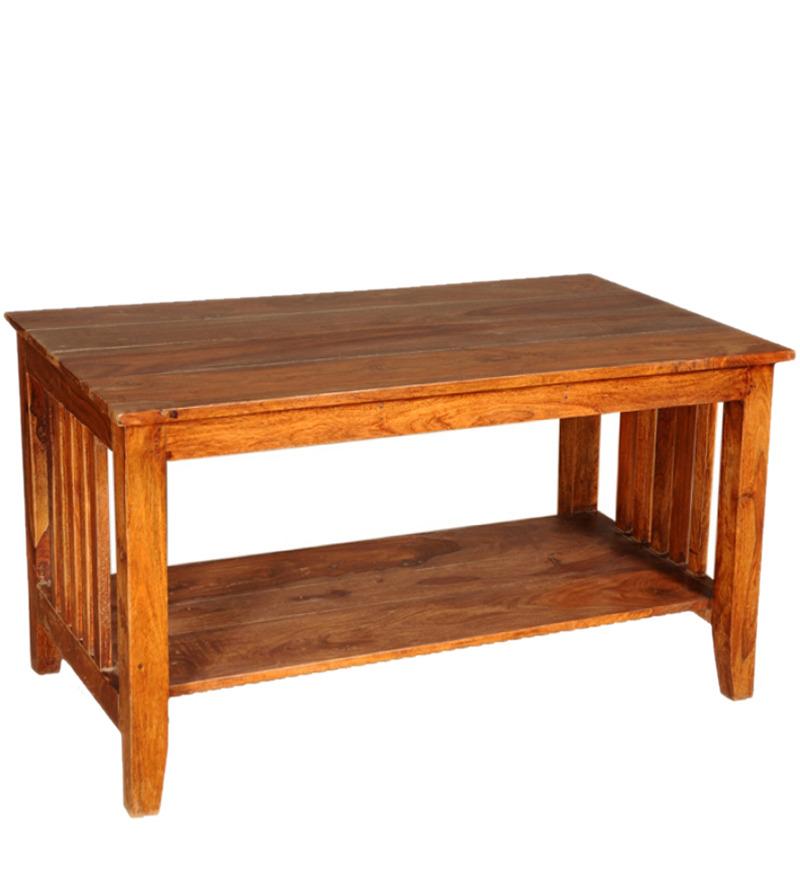 Sheesham Wood Center Table by Mudra Online - Coffee ...