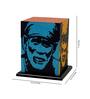 Shady Ideas Multicolour Acrylic & Handmade Paper Saibaba Table Lamp