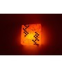 Shady Ideas Red Dusky Stone Mosaic Wall Sconce