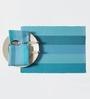 Shahenaz Home Shop Ivan Blue Cotton Striped 8-piece Placemat and Napkin Set