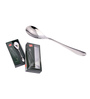 Shapes Cosmic Silver Stainless Steel Tea Spoon - Set of 12