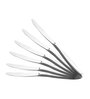 Shapes Oslo Silver Stainless Steel Table Knife - Set of 6