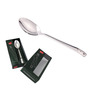 Shapes Triple Dot Stainless Steel Dinner Spoon - Set of 12