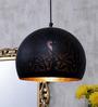 Shaz Living Marrakesh Black Mild Steel Hanging Lamp
