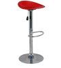 Shello Bar Stool In Red Color By The Furniture Store