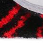 Shobha Woollens Black & Red Polyester Area Rug