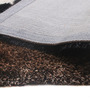 Shobha Woollens Brown Polyester Solid Area Rug