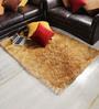 Shobha Woollens Honey Polyester Area Rug