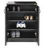 Shoe Cabinet Smart Imperial Teak Finish by Zuari