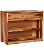 Freemont Shoe Rack in Natural Sheesham Wood Finish by Woodsworth