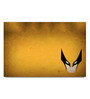Shop Mantra Paper 19 x 13 Inch Hawkgirl Minimal Unframed Laminated Poster