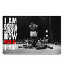 Shop Mantra Paper 19 x 13 Inch Muhammad Ali How Great I Am Unframed Laminated Poster