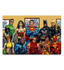Shop Mantra Paper 19 x 13 Inch Superhero Family Unframed Laminated Poster
