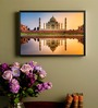 Shop Mantra MDF 19 x 13 Inch Taj Mahal Laminated & Durable Framed Poster
