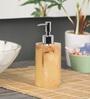 Shresmo Yellow Polyresin Soap Dispenser