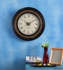 Accidentals Retro Wall Clock in Gold by Bohemiana