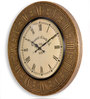 Adare Wall Clock in Gold by Amberville