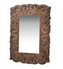 Addis Decorative Mirror in Gold by Amberville