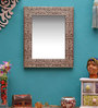 Brutha Decorative Mirrors in Silver by Bohemiana