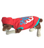 Shut the Feed Me Dog Hoodie in Red (Size 16)