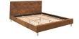 Silverado King Bed in Coffee Finish by @home