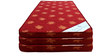 Single Size 4 Inches Thick Foam Mattress (Set of 3) in Maroon Colour by Story@Home