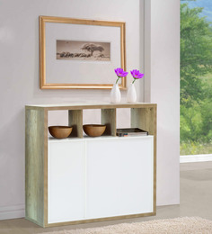 Daisuke Storage Cabinet in Natural Finish by Mintwud