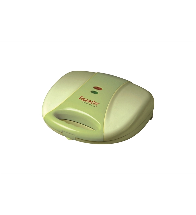 SignoraCare 700 Watts Sandwich Maker 2 Slice Griller -Biege  available at Pepperfry for Rs.909
